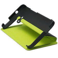HTC HC V841 FLIP CASE WITH STAND FOR HTC ONE BLACK GREEN 99H11296-00