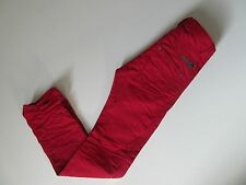 NWT DIESEL Darron in 008QU Red Regular Slim Tapered Buttonfly Jeans 31 x 32 $195