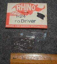 1/24 CLEAR PRO DRIVER by RHINO - NEVER USED