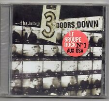 "3 DOORS DOWN CD "" THE BETTER LIFE "" 12 TITRES 1999 NEUF SCELLE AVEC STICKER"
