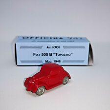 # 1:76 FIAT 500 B TOPOLINO 1948 OFFICINA 942 (ART- 1001/A) DIECAST MIB #