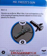 Heroclix Batman s100 MR FREEZE's Gun