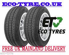 2X Tyres 225 75 R16C 121/119R 10PR House Brand VAN E C 72dB
