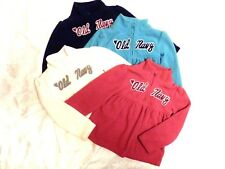 4 Old Navy Girls Toddler Pullover Sweaters Size 3T Blue Pink Cream Aqua