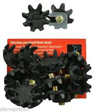BLACK WIDOW 6 mm METAL THREAD SOFTSPIKES / CLEATS.