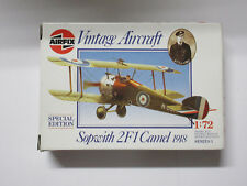 AirFix Vintage Aircraft 1/72 Sopwith 2F1 Camel 1918
