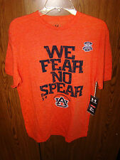 UNDER ARMOUR FLORIDA STATE SEMINOLES AUBURN FEAR NO SPEAR FOOTBALL SHIRT MEDIUM