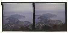 Plaque AUTOCHROME STEREO Lumière 6x13, Presqu'île Cap Ferrat - STEREOVIEW