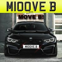 MOVE B! (M100 VEB) Private Number Plate RARE FUNNY CLEAR YEA POWER AUTHORITY FUN