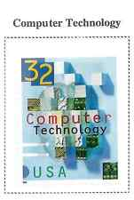US MINT STAMP SCOTT #3106 COMPUTOR TECHNOLOGY 32 CENT 1996
