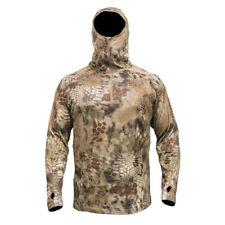 Kryptek Cammo Sherpa Hoodie 1/4 Zip Hunting Outdoors Highlander Mens Boy XS NWT