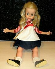 "Rare Vintage Eegee Doll Puppetrina puppet 1963 W/ Original Outfit 22"" LOVELY"