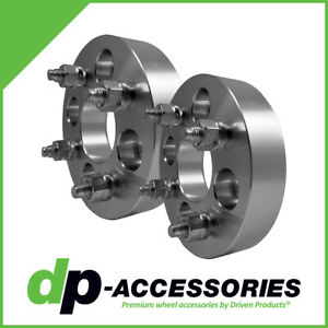 "1.25"" Bolt-On Lug Centric Wheel Spacers 4x100 60mm by DP-Accessories - 2 Pack"