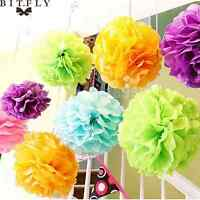 "10pcs 6""8""10"" Paper Pom Poms Flower Ball Wedding Party Birthday Decoration"