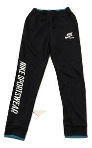 NIKE Boy's Archive Fleece Jogger Sportswear Sweatpants Black AA3973 010