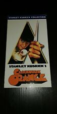 A Clockwork Orange (Vhs, 1999) Malcolm McDowell, Patrick Magee, Stanley Kubrick