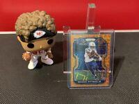 2020 Panini Prizm Michael Pittman Jr Rookie Orange Lazer Prizm #333 Colts!