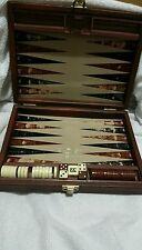 Vintage travel  magnetic  Backgammon Game