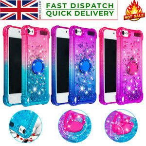 For Apple IPod Touch 7th 6th 5th Generation Shockproof Glitter Phone Case Cover
