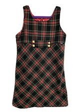 Vintage The Children Places youth girls plaid dress sleeveless size 10