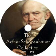 Arthur Schopenhauer Audiobook Collection in English on 1 MP3 DVD Free Shipping