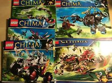 BIG LOT 16 LEGO INSTRUCTION MANUALS ONLY Legends Of Chima Free Shipping