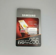 Samsung EVO Plus 256gb with sd Adapter