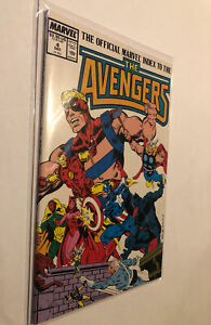 OFFICIAL MARVEL INDEX TO THE AVENGERS  #4  MARVEL COMICS 1987 VF/NM  Hi Grade