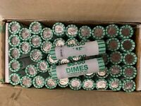 2009 D Bank Wrapped Dime Rolls - Business Strike - RARE