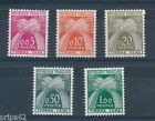 CT - TIMBRES TAXE N° 90 à 94 Neuf Luxe **