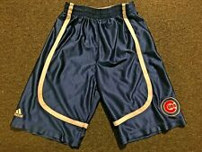 MLB Chicago Cubs Youth Small Adidas Basketball Style Shorts