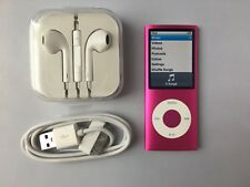 Apple iPod nano 4th Generation Pink (16GB) mint