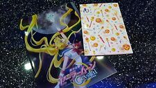 *Sailor Moon 20th Anniversary-Sailor Moon A4 Folder and A5 Notebook -RARE