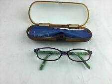 Op Ocean Pacific childrens Eye Glasses frame Eggplant ***free case