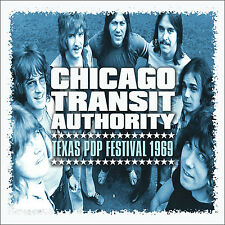 CHICAGO New Sealed 2018 UNRELEASED LIVE TEXAS 1969 CONCERT CD
