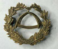 WW1 7th Battalion The Hampshire Regiment Cap Badge Original