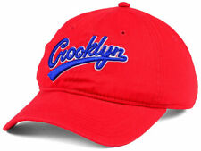 Crooklyn Defend Brooklyn Spike Lee Red Relaxed Fit Strapback Cap Dad Hat