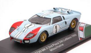 FORD GT40 MKII N.1 2ND LM 1966 MILES-HULME 1:43 AUTO COMPETIZIONE CMR CLASSIC