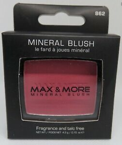 max & more mineral blush rose 862