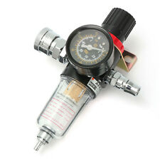 1/4 inch Air Compressor Regulator Pressure Gauge Moisture Filter Device