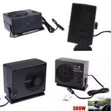 12V Car Portable 2 in1 Ceramic Heater Heating Defroster Window Demister Hot Fan