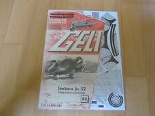 "Original GELI-Modell Nr. 63 -  ""Junkers Ju-52"""