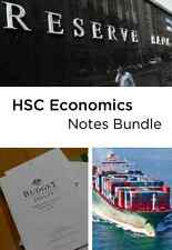 Top HSC ECONOMICS NOTES for ENTIRE COURSE + ESSAYS | 97% HSC Trial/Band 6