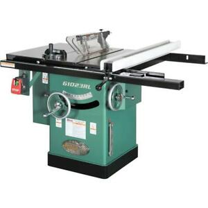 """Grizzly G1023RL 10"""" 3 HP 240V Cabinet Table Saw"""