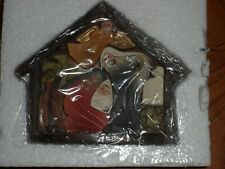 """Dickens Holy Family Removable Piece Puzzle 4"""" NWT"""