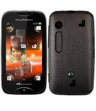 Skinomi Brushed Steel Phone Skin+Screen Protector for Sony Ericsson Mix Walkman