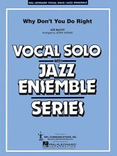 Why Don't You Do Right Vocal Solo Jazz Ensemble Series NEW 007500093
