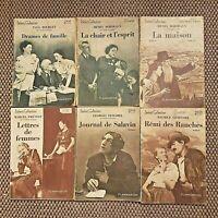 """lot de livres anciens dans la collection """" Select-Collection"""" chez Flammarion"""