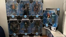 DC Multiverse McFarlane lot of 7 (Red Son Superman, Batman, Robin, Arrow, etc)