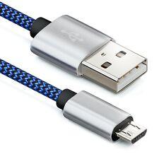 2m Micro USB Kabel Nylon Ladekabel Datenkabel Micro USB Handy Smartphone Tablet
